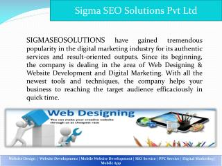 SEO Service Company in Gurgaon