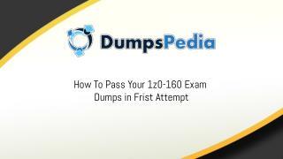 1z0-160 Dumps Questions