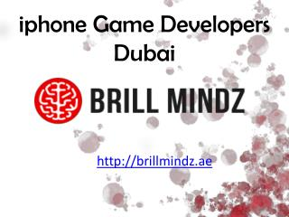 iphone game development company Dubai