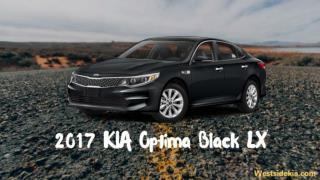 2017 KIA Optima Black LX