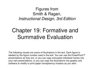 Chapter 19: Formative and Summative Evaluation