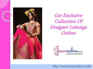 Shop Designer Lehenga Online UK, Lehenga Online Store UK