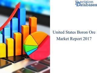 United States Boron Ore Market Manufactures and Key Statistics Analysis 2017