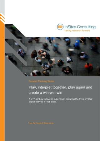 Play, interpret together, play again and create a win-win-win