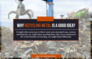 Is recycling metal a good idea?