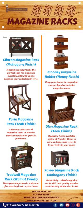 Buy Magazine Racks Online at Unbeatable prices - Wooden street