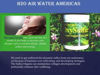 organic sulfur supplements