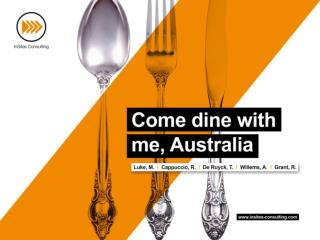 Come Dine With Me, Australia