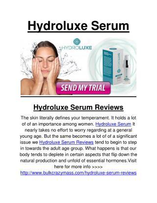 Hydroluxe Serum