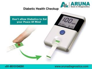 Diabetics health check up packages in Hyderabad