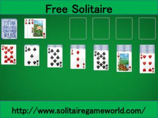 Play Solitaire Card Game With Lots of Fun at Solitairegameworld