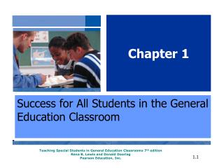 Success for All Students in the General Education Classroom