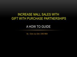 Partnership Marketing - A How To Guide