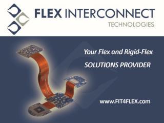 Flex and Rigid Flex Solution Providers