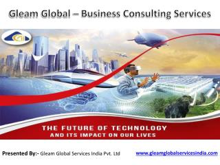 Gleam Global – Business Consulting Services
