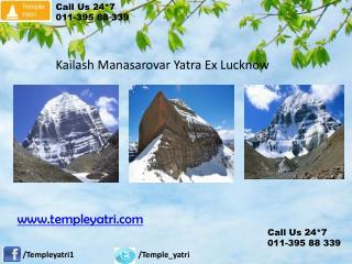 Kailash Manasarovar Yatra Ex Lucknow