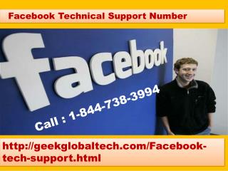 Instant Support for Facebook Technical Number 1-844-738-3994 toll free