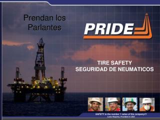 TIRE SAFETY  SEGURIDAD DE NEUMATICOS