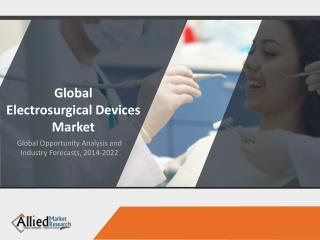 Electrosurgical Devices Market- Global analysis and forecasts