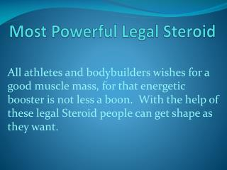 USA made powerful legal steroids are now online with multiple benefits