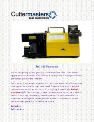 End mill Sharpener