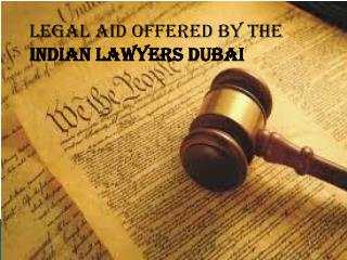 Indian lawyers Dubai