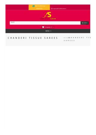 Chanderi Tissue Sarees with Best Quality