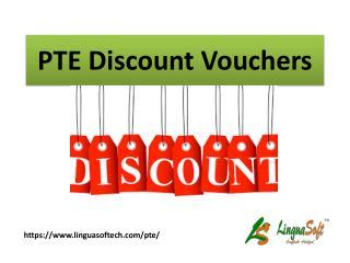 PTE Discount Vouchers
