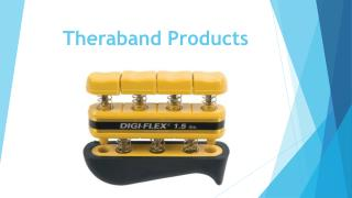 Theraband Products - Golden Horse Medical Supplies