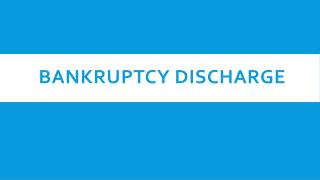 Bankruptcy Discharge | US Bankruptcy Records