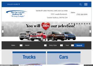 Bad car loans North Bay