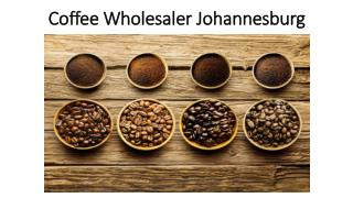 Coffee Wholesaler Johannesburg - Thecoffeebrew