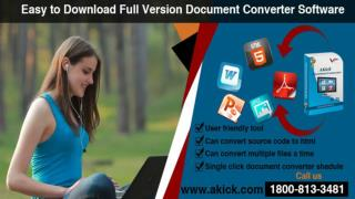 Download Document Converter & File Converter Software - AKick