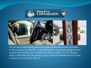 Auto locksmith Hayward