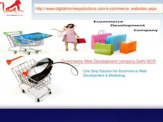 Ecommerce Web Development Company Delhi NCR