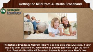 Benefits of Nbn Internet Network  | Australia Broadband