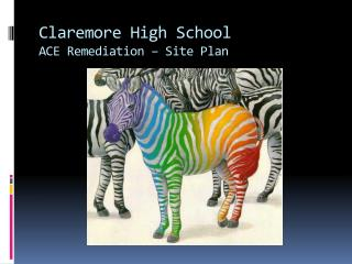 Claremore High School ACE Remediation   Site Plan