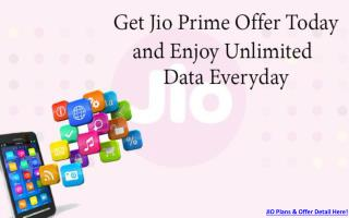 Jio Recharge Offers and Tricks: All About JIO Prime