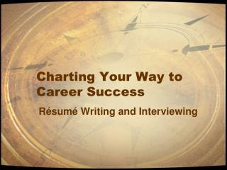 Charting Your Way to Career Success