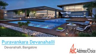 Puravankara Devanahalli New Project in Bangalore