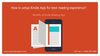 How to Use Your Kindle Reading App in A Best Possible Way?
