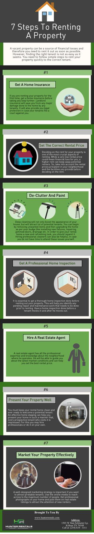 Steps To Renting A Property