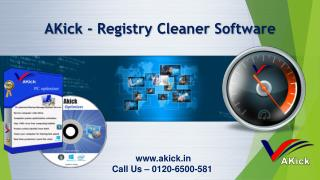 Akick - Registry Cleaner Software