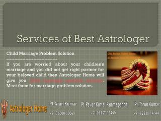Services of Astrolger Home - The Best Astrologer - Part 5