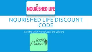 Nourished Life Discount Code