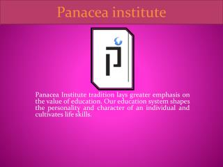 Best Coaching Institute in Jaipur - Panacea Institute
