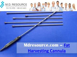 Fat Harvesting Cannula