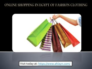 Fashion Clothing | Online Shopping in Egypt