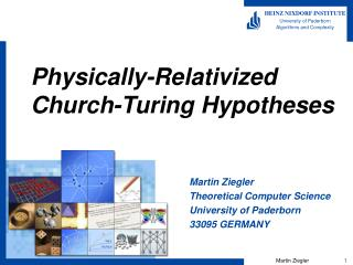Physically-Relativized Church-Turing Hypotheses