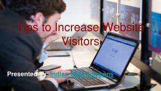 Tips to increase website visitors